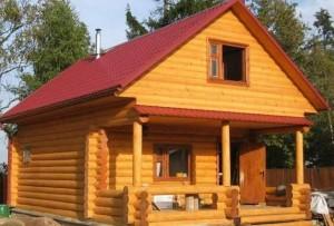 Примерно так будет выглядеть наш дачный дом