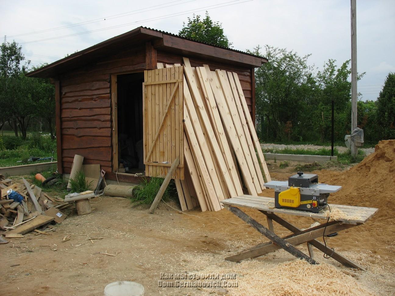 Сарай своими руками: каркасный, деревянный, пошагово, фото, видео 42