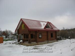 Дом под первым снегом