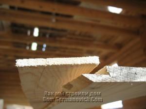 Рейка, закрывающая пространство, между досок обшивки