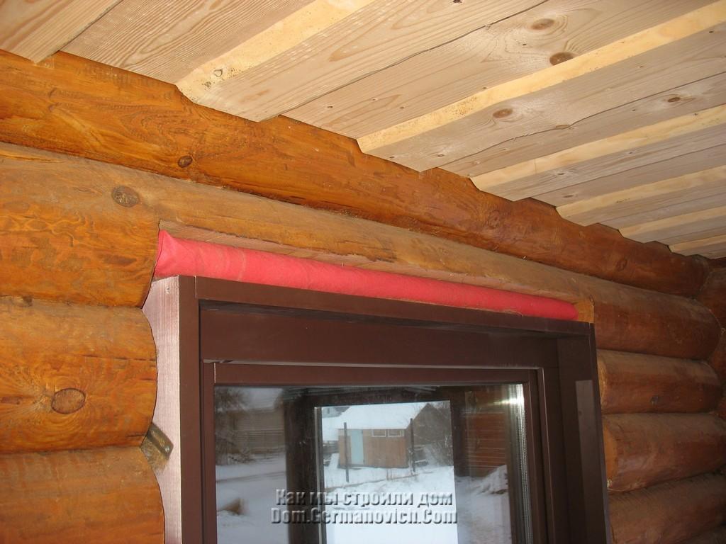 Утепление окон в деревянном доме