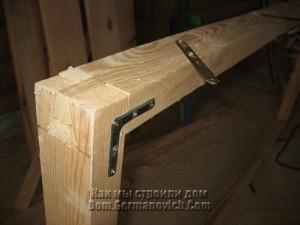 Металлические уголки для усиления дверной коробки