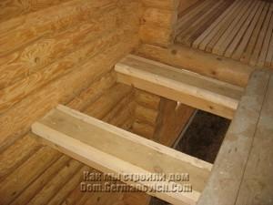Бруски между балок для крепления обшивки потолка