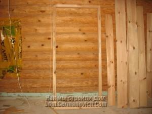 Заготовка дверной коробки