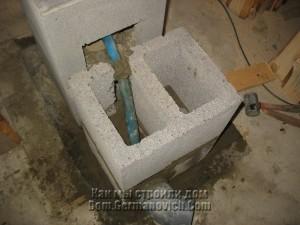 Установлен второй блок вентиляционного канала