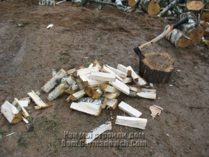 Первый дрова
