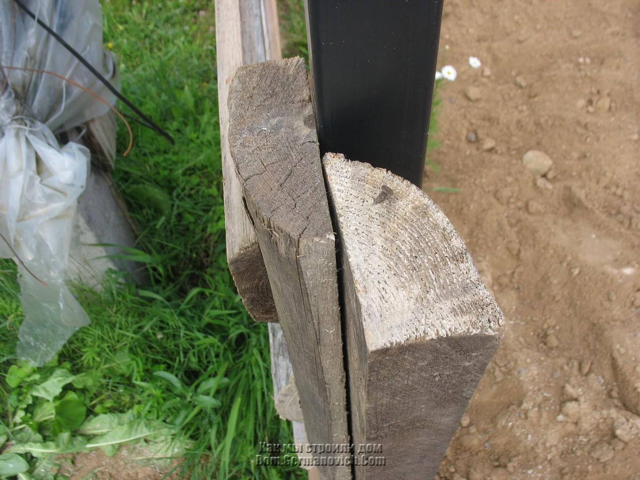 Как сделать бетонный столб фото 525