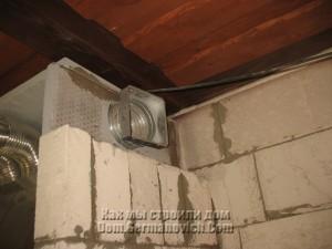 Каркас вентиляционной решетки