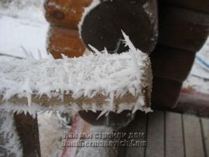 Ледяные иголки длиной до 2 см