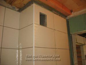 Верх плитки не доходит до потолка