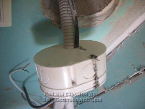 Самодельная монтажная коробка для терморегулятора Теплолюкс TP 730